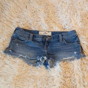 Distressed Booty Shorts
